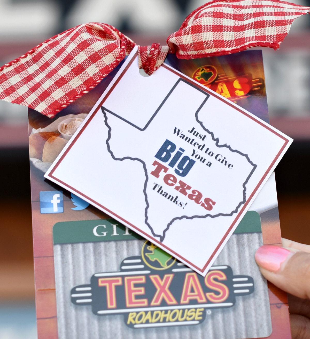 Big Texas Thank You Gift