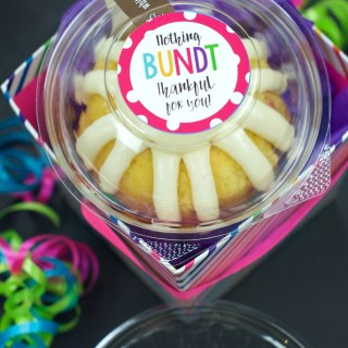 Thank You Gift Idea-Nothing Bundt Grateful for You!