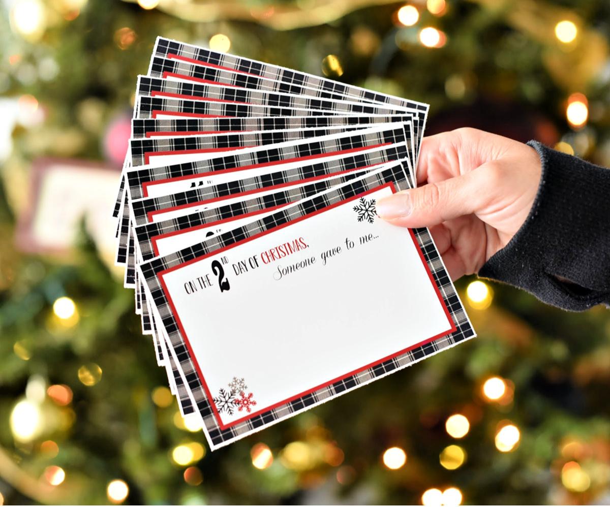 fun 12 days of Christmas ideas