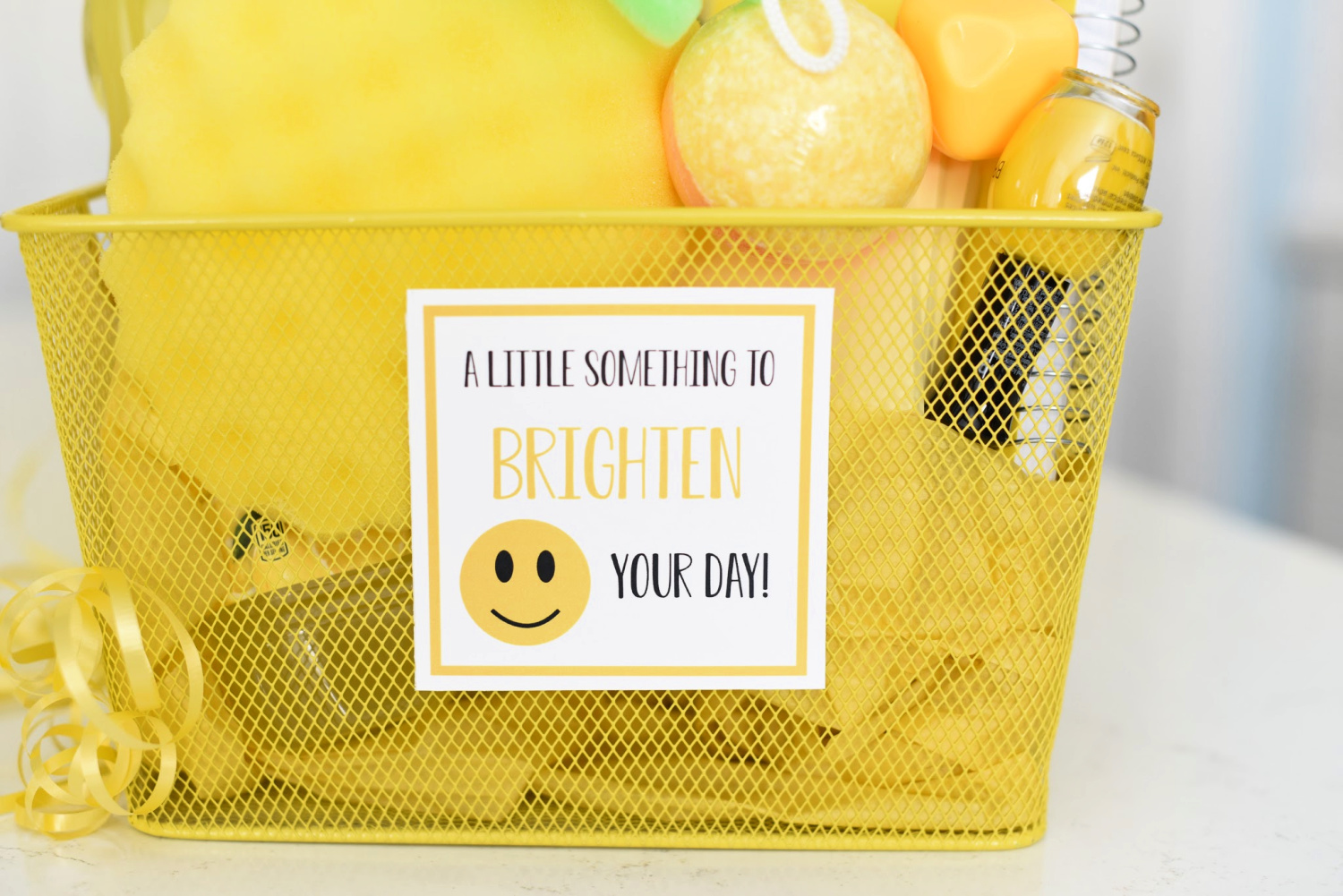 Brighten Your Day Gift Tag
