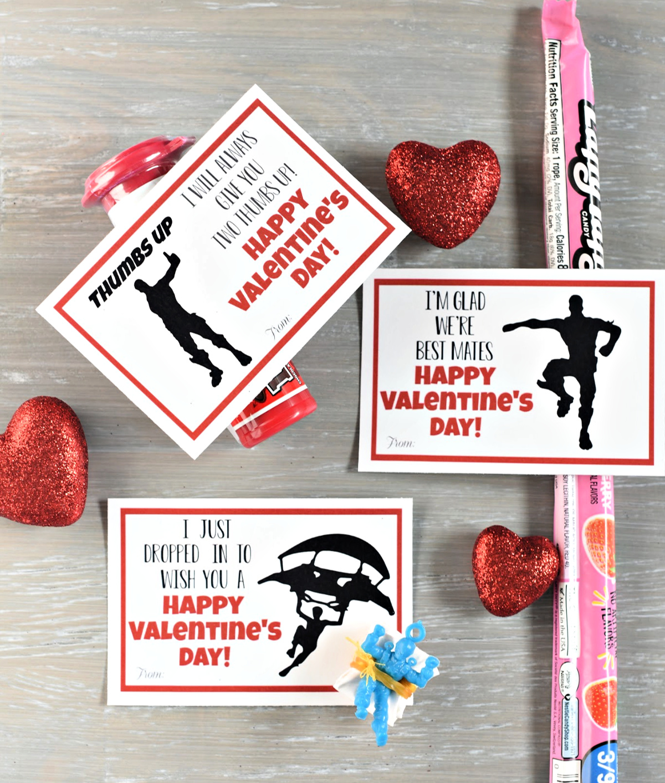 Fortnite Printable Valentines