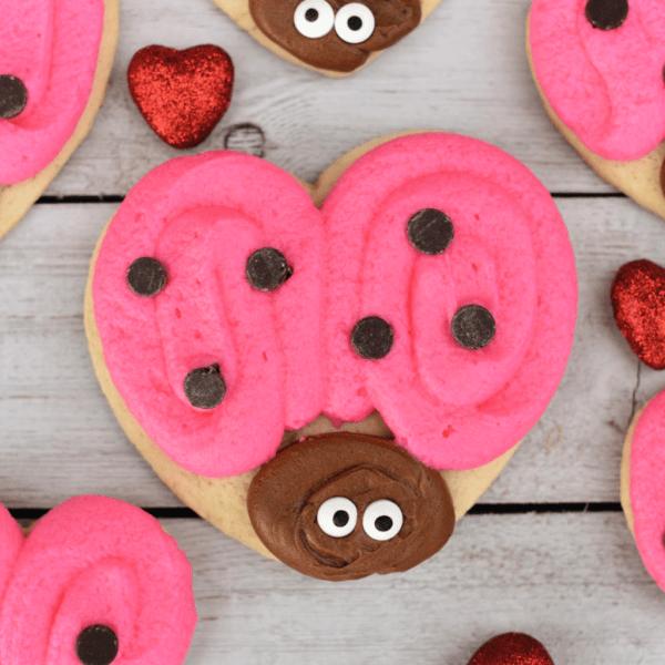 Cute Valentine's Cookies