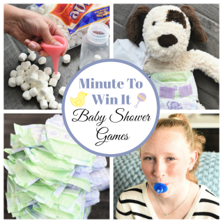 Fun Minute to Win It Baby Shower Games