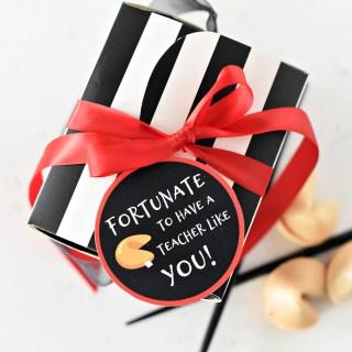 Fortunate to Have a Teacher Like You Teacher Gift Idea