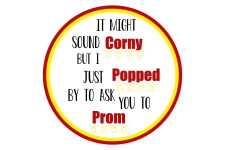 Fun Prom Proposal