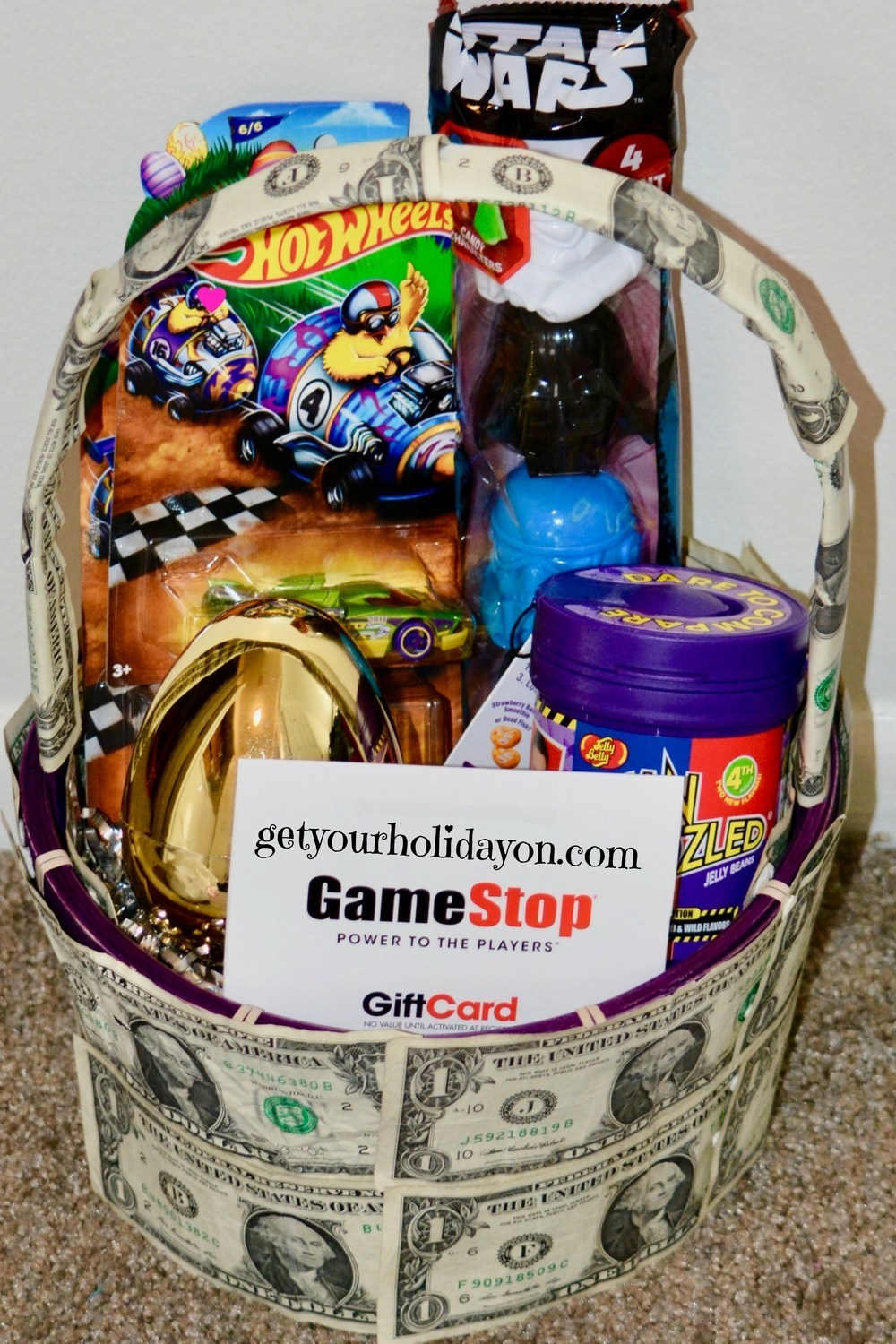 Money Easter Basket
