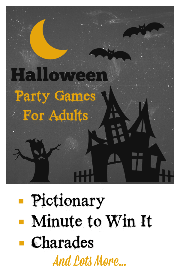 Fun Halloween Party Games for Adults. Play these super fun party games at your next Halloween party and see how much fun you can really have! So many fun halloween games. #halloweenpartygames #partygamesforadults #fungamesforadults #halloweenparty #halloweenfun