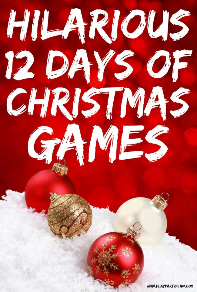 12 Days of Christmas Party Game