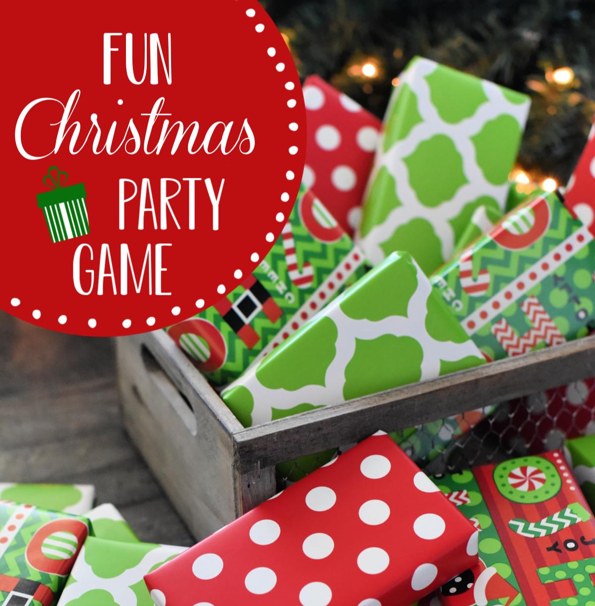 Fun Gift Grab Christmas Party Game Fun Squared