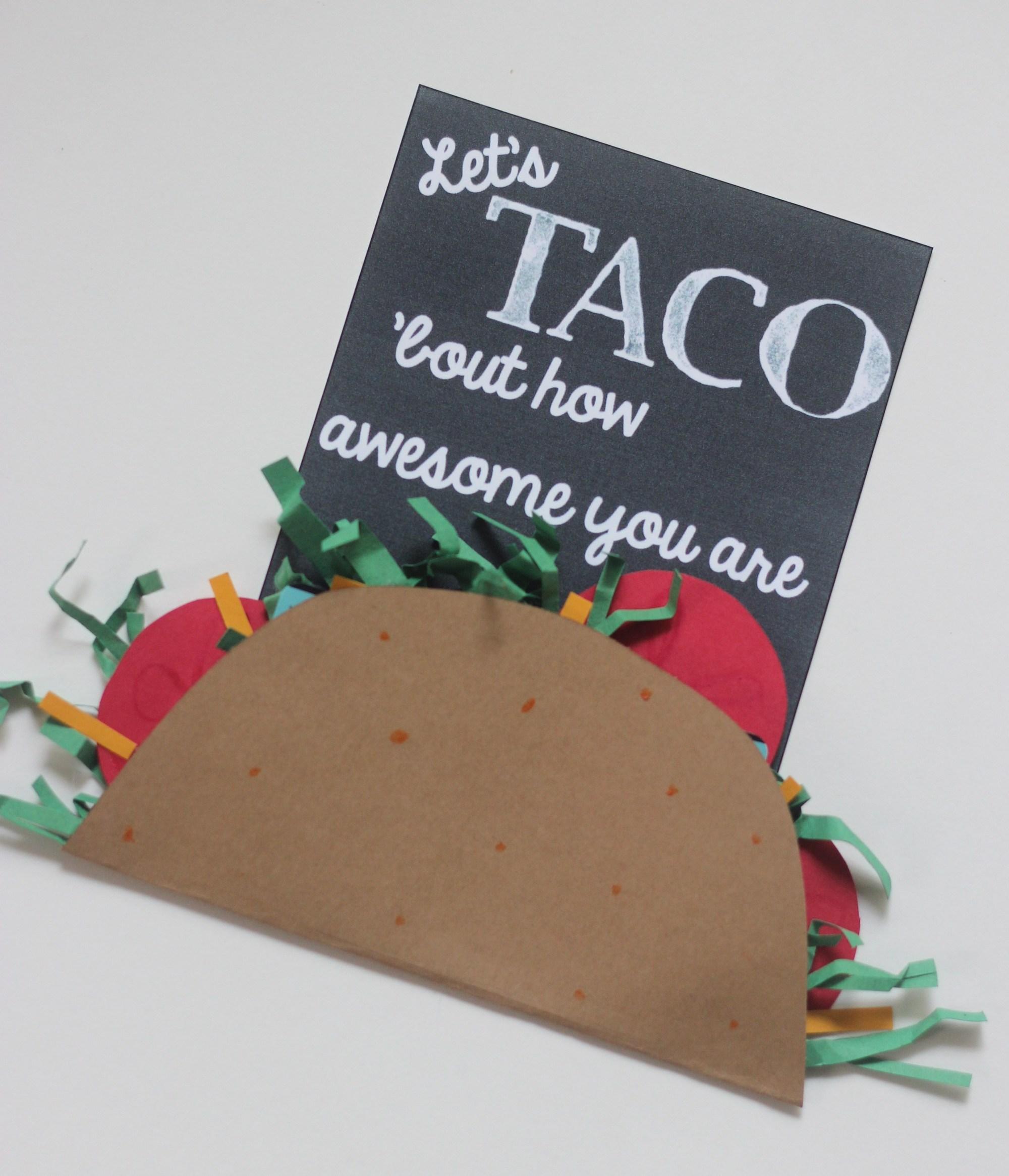 Taco Gift for Teachers