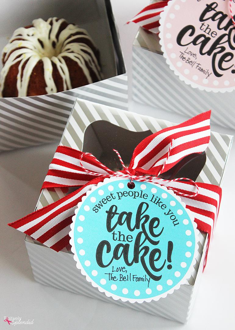 Cake Gift for Teachers