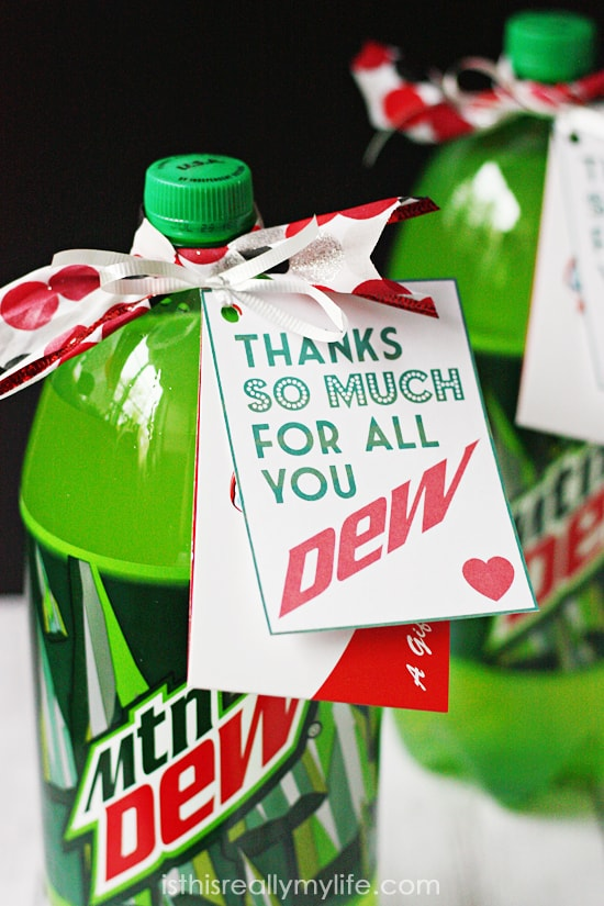 Thanks for all you Dew