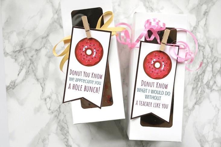 Donut Gift for Teachers