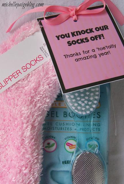 Socks Gift Idea for Teachers
