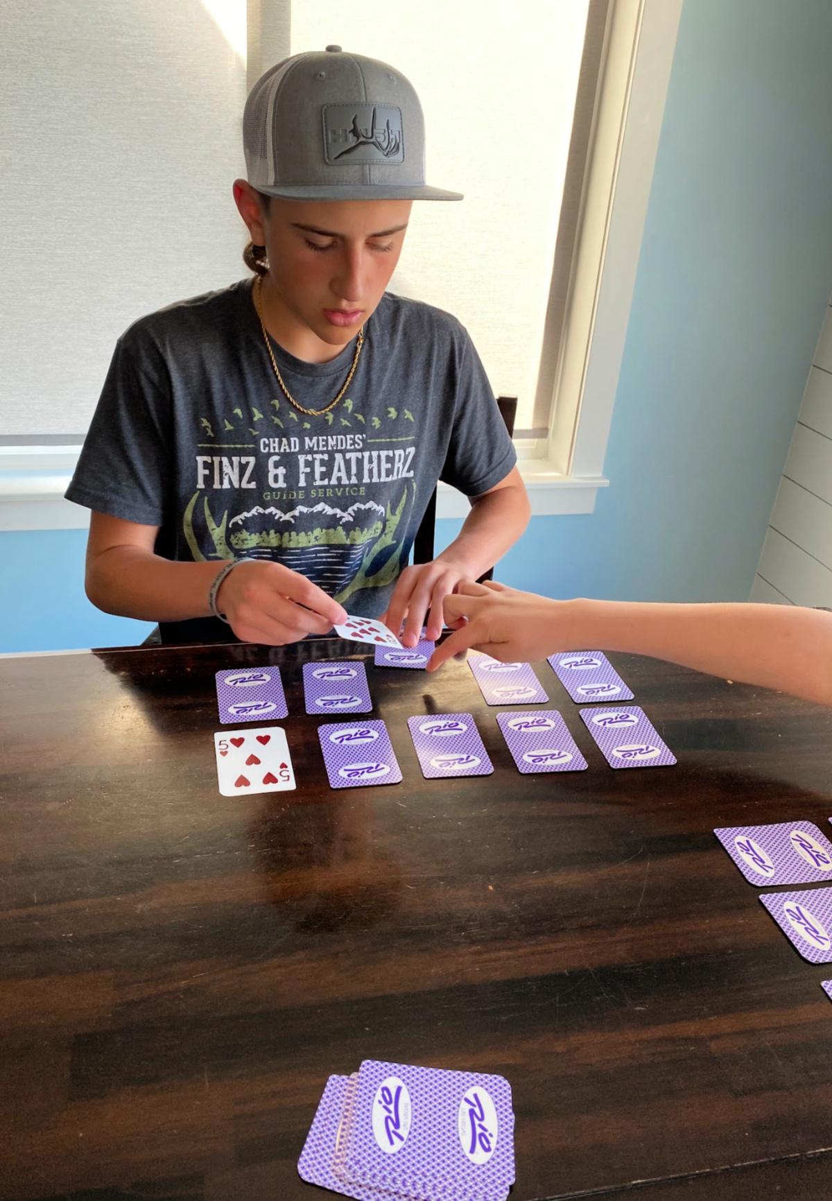 Fun Garbage Card Game