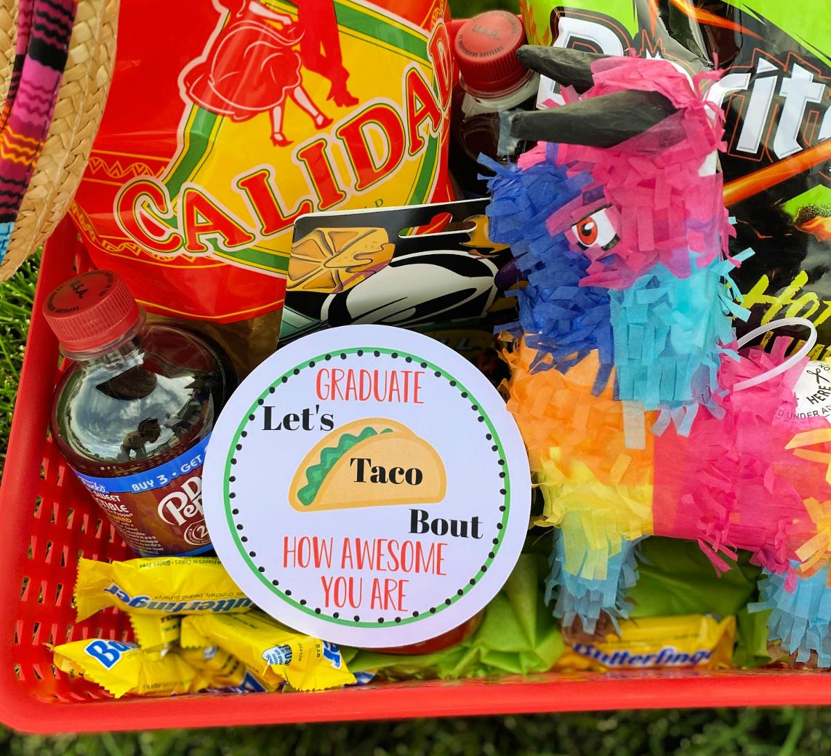 Fun Taco Themed Grad Gift