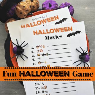 Halloween Emoji Game