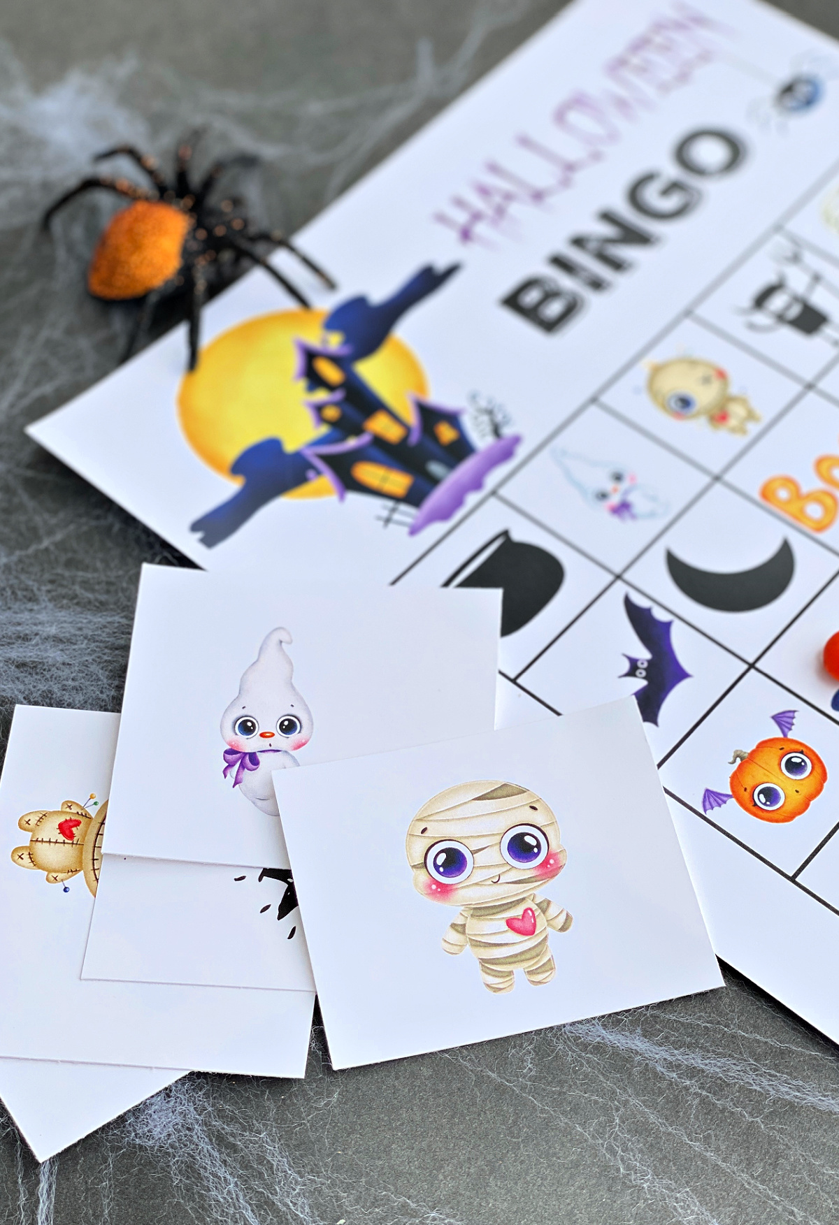 Printable Halloween Bingo Boards