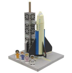 親子で楽しむロケットのペーパークラフト