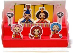 無料で楽しむひな人形のペーパークラフト