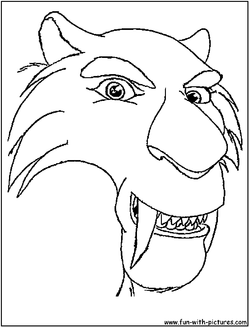Shira Ice Age 4 Coloring Pages Coloring Pages