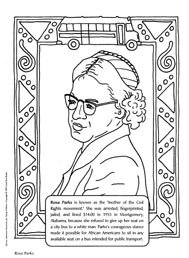 FAMOUS BLACK AMERICAN COLORING SHEETS « Free Coloring Pages