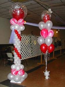 chair covers for hire in midrand dining large chairs balloon pillars and columns – party animals