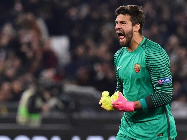 fun88 alisson becker roma