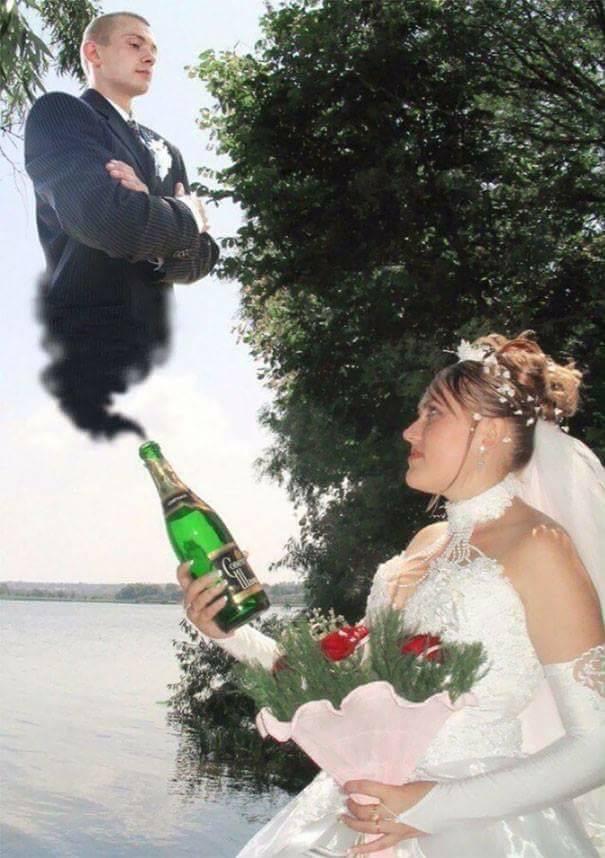 Awkward Wedding Photos 25 Pics