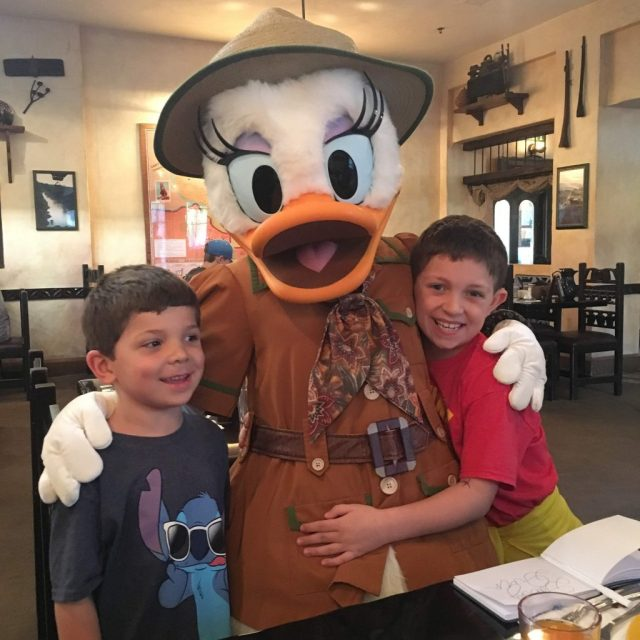 Tusker House Character Breakfast - Fun and Frosted