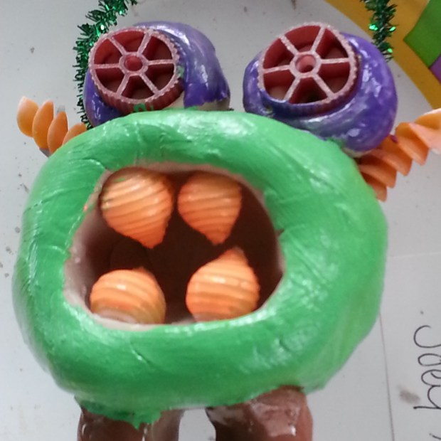 Clay Pinch Pot Monsters Arts and Crafts Project