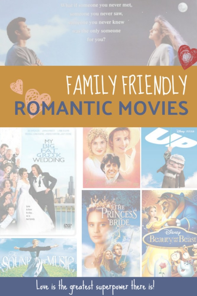 Family Friendly Romantic Movies from @FunAsYouGrow #movies #film #family #entertainment #animation #romanticcomedies
