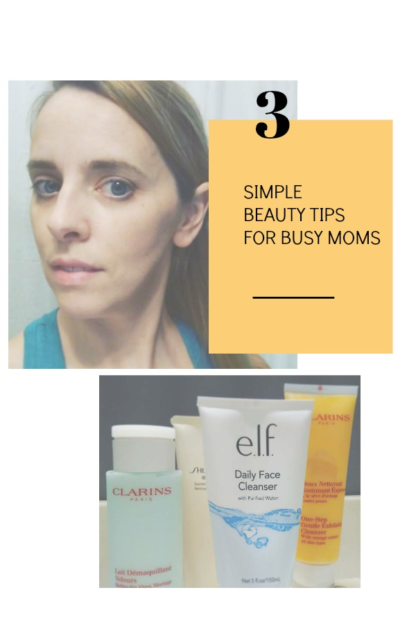 Simple Beauty Tips for Busy Moms from @FunAsYouGrow