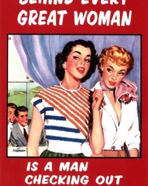 Behind every Great woman …