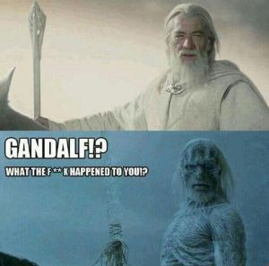 Gandalf in Game of Thrones