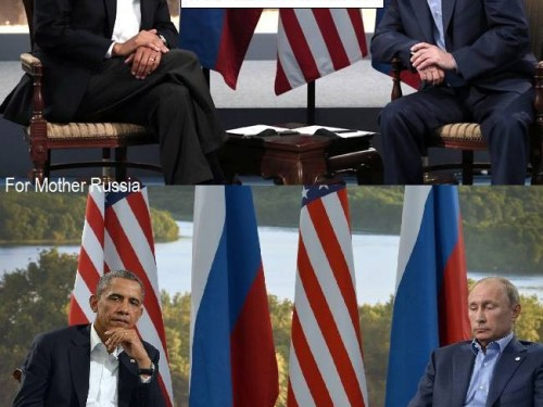 Presidential awkward silence.