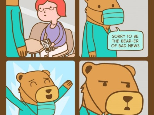 Bears can't do surgery.