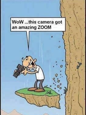 Amazing zoom