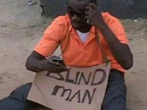 Help this man…