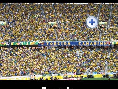 Just some Brazilian football fans