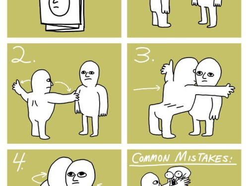 How to hug a man if you are a man