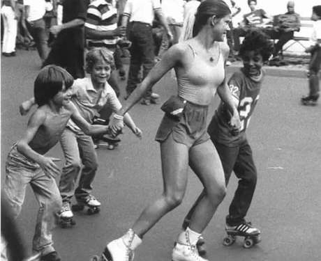 <div>Roller skating in the 1970's</div>