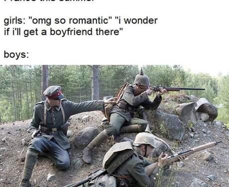 Pretty romantic as well