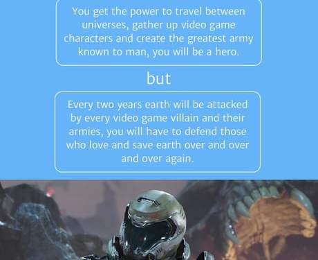If only Doom was released once every two years
