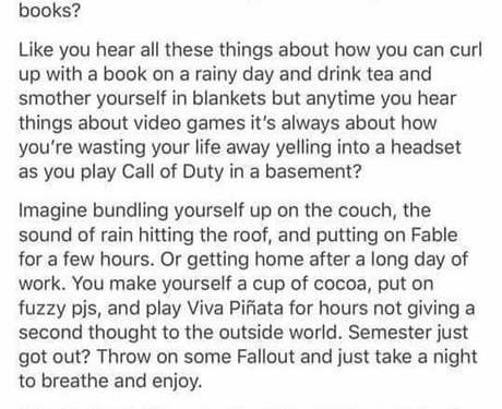 This guy has summed up what I try to tell my parents and non-gamer friends pretty perfectly