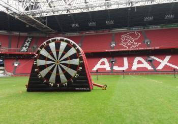 Mega voetbaldart funbal.nl in Johan Cruijff Arena