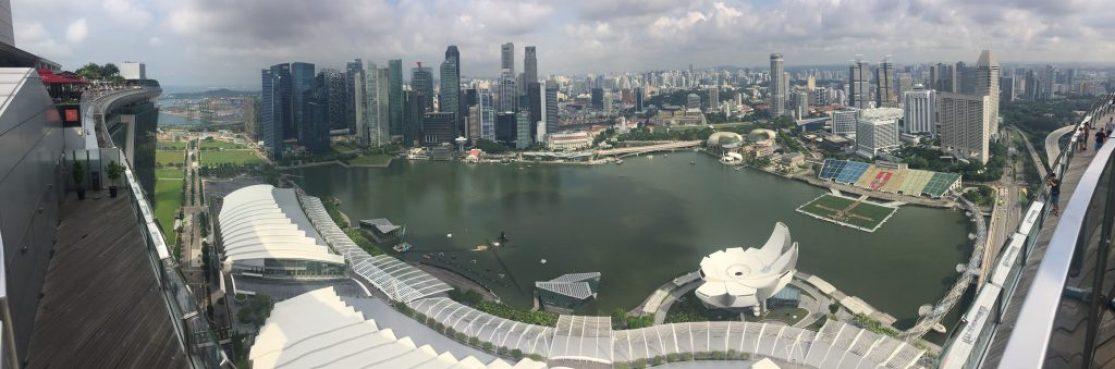 Singapur Marina Bay Sands Hotel Infinity Pool