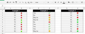 How to Set Conditional Formatting Icons in Google