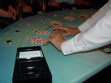 Blackjack game at Brisbane Fun Casino