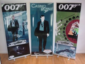 Casino Royale theme Banners